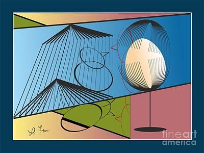 Digital Art - Irrelevant Comments by Leo Symon
