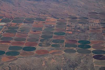 Photograph - Irrigated Farms by Kathryn Meyer