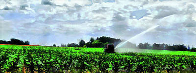Digital Art - Irrigation by Leslie Montgomery
