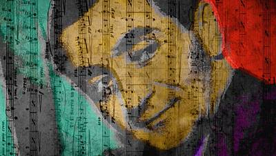 Berlin Mixed Media - Irving Berlin  by Otis Porritt