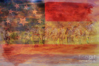 Digital Art - Is Mississippi Ready For This Day Gettysburg by Randy Steele