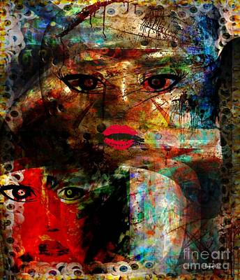 Yesayah Mixed Media - Is The Seer Here by Fania Simon