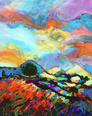 Wall Art - Painting - Is There A Storm Brewing? by Charles Wallis