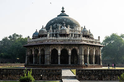 Photograph - Isa Khan Tomb by Steven Richman