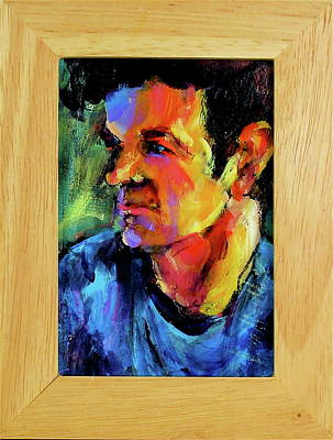 Painting - Isaak by Les Leffingwell