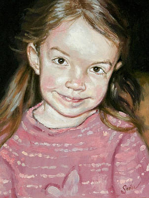 Painting - Isabeau Smiles by Larry Seiler
