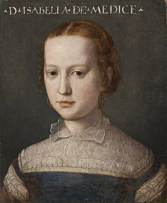 Painting - Isabella De Medici by Attributed to Bronzino