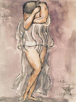Alluring Painting - Isadora Duncan by Emile-Antoine Bourdelle