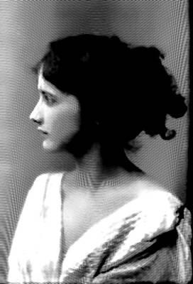 Isadora Duncan Drawing - Isadora Duncan Grabado by Quim Abella