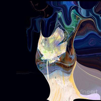 Digital Art - Isadora Duncan by Zsanan Narrin