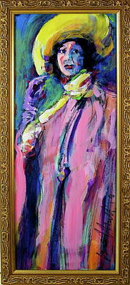 Painting - Isadora by Les Leffingwell