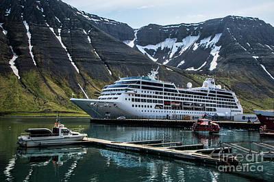 Photograph - Isafjordur, Iceland by Shirley Mangini