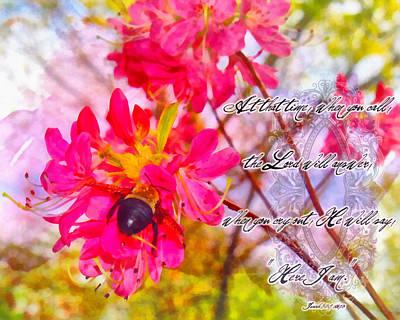 Isaiah Digital Art - Isaiah 58 9 by Michelle Greene Wheeler