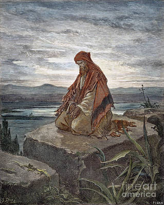Drawing - Isaiah by Gustave Dore
