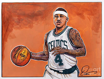 Isaiah Thomas Original by Dave Olsen