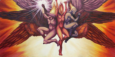 Isaiah's Seraphim Art Print by Ida Kendall