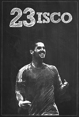 Cristiano Ronaldo Digital Art - Isco by Semih Yurdabak
