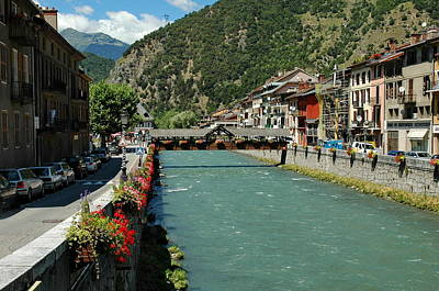 Photograph - Isere In Moutiers by Francois Dumas