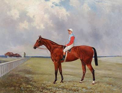 1943 Painting - Isinglass With Tommy Loates Up by Henry Frederick