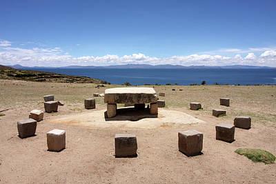 Photograph - Isla Del Sol, Lake Titicaca, Bolivia by Aidan Moran
