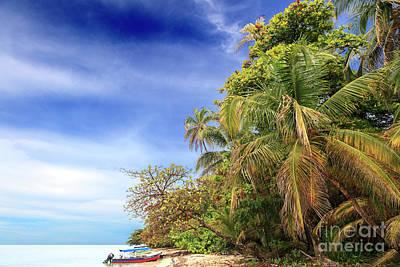 Photograph - Isla Zapatillas Color by John Rizzuto