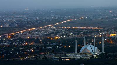 Islamabad Photograph - Islamabad City by Mina Fouad
