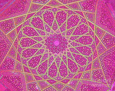 Oriental Photograph - Islamic Geometry 6 by Amani Al Hajeri