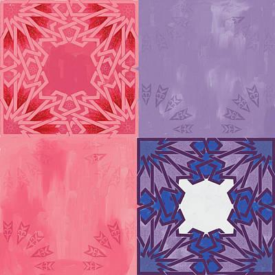 Painting - Islamic Motif Iv by Mawra Tahreem