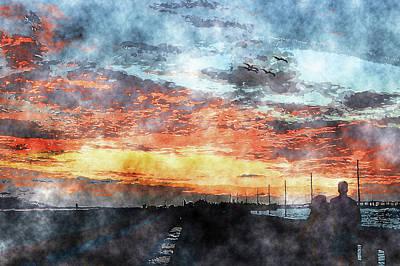 Mixed Media - Islamorada Art by Ken Figurski