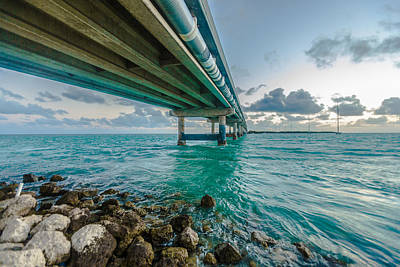 Islamorada Crossing Art Print by Dan Vidal