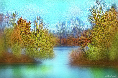 Digital Art - Island Autumn Dreams by Joel Bruce Wallach