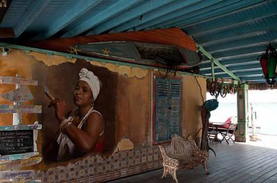 Island Bar And Grill Art Print by Joe Teceno