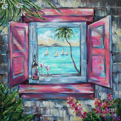 Painting - Island Bar by Linda Olsen