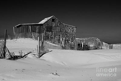 Seaside Heights Photograph - Island Beach State Park The Judges Shack by Paul Ward