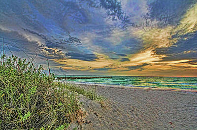 Photograph - Island Beaches by HH Photography of Florida