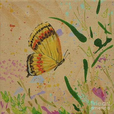 Island Butterfly Series 1 Of 6 Art Print