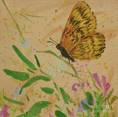 Painting - Island Butterfly Series 4 Of 6 by Gail Kent