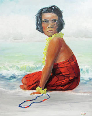 Painting - Island Child by Catherine Link