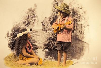 Island Children Print by Himani - Printscapes