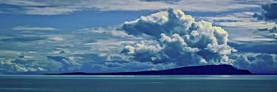 Digital Art - Island Clouds by Richard Farrington