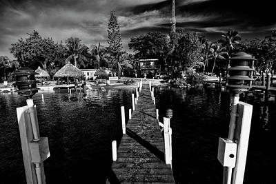 Photograph - Island Dock  by Kevin Cable