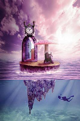 Digital Art - Island Dreaming by Nathan Wright