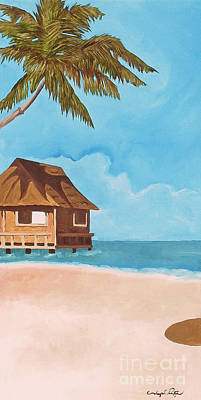 Painting - Island Dreams 1 by Joseph Palotas
