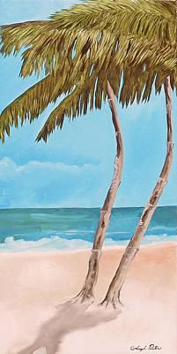 Painting - Island Dreams 3 by Joseph Palotas