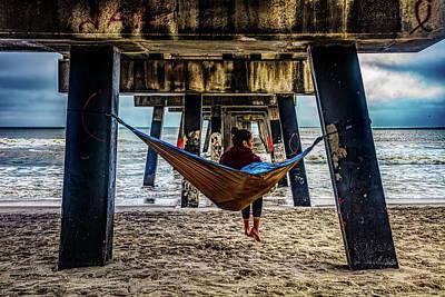 Photograph - Island Dreams Under The Pier by Debra and Dave Vanderlaan