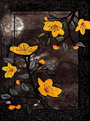 Digital Art - Island Flowers by Fine Art By Andrew David