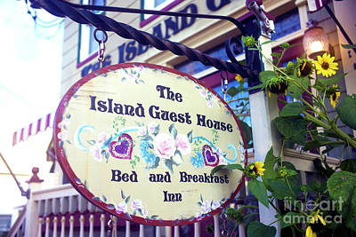 Photograph - Island Guest House by John Rizzuto