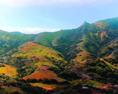 Photograph - Island Hills by Timothy Bulone