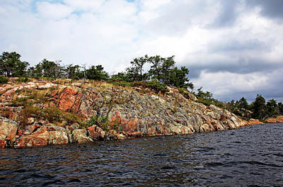 Photograph - Island In Mcgregor Bay by Debbie Oppermann
