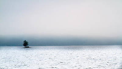 Photograph - Island In The Fog by Bob Orsillo